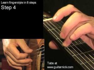 Шаг 4 (fingerstyle за 8 шагов)