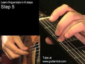Шаг 5 (fingerstyle за 8 шагов)
