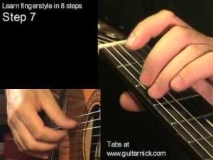 Шаг 7 (fingerstyle за 8 шагов)