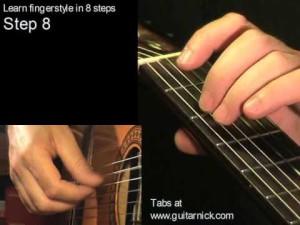 Шаг 8 (fingerstyle за 8 шагов)