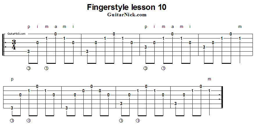 fingerstyle-lesson-10-guitar-tab