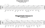 Урок 5-7 (новичкам) — fingerstyle