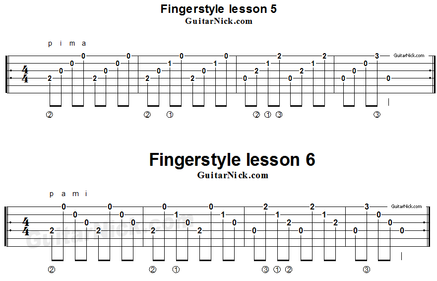 fingerstyle-lesson-5-6-guitar-tab