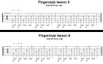 Урок 8-10 (новичкам) — fingerstyle