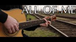 John legend — All of me (Peter Gergely), finger tab
