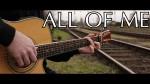 John legend — All of me (Peter Gergely), finger tab
