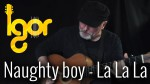 La La La — Naughty Boy ft. Sam Smith (Игорь Пресняков), finger tab