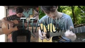 Guetta David — Titanium (Cover by Peter Gergely & Eddie Van der Meer), fingertab