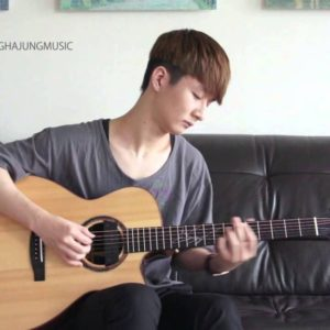 Sungha Jung — Wild and Mild, fingertab