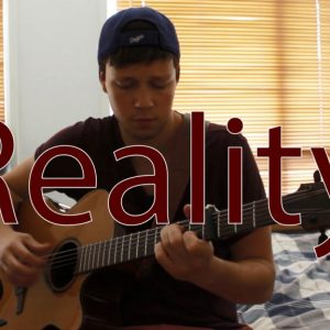 Lost Frequencies — Reality (Cover by Dax Andreas), fingertab