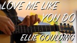 Ellie Goulding — Love Me Like You Do (Gareth Evans), finger tab