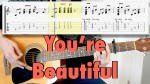 James Blunt — You're Beautiful, finger tab