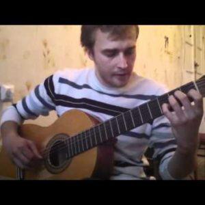 ZAZ Je veux (Alexey Nosov), finger tab