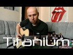 David Guetta — Titanium (Василий Пастухов), finger tab