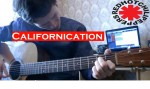 RHCP — Californication (Миронеко Артем), finger tab