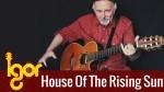 The House Of The Rising Sun (Игорь Пресняков), finger tab