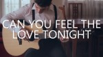 Lion King — Can You Feel The Love Tonight (Peter Gergely), finger tab