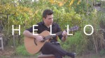 Adele — Hello (Peter Gergely), finger tab