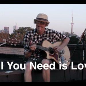 The Beatles — All You Need Is Love (Joel Saunders), finger tab