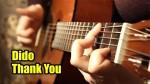 Dido — Thank You (Марина Миракова), finger tab (PDF)