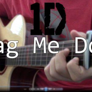 One Direction — Drag Me Down (Hajun Lee), finger tab (PDF)