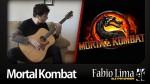 OST Mortal Kombat — Main Theme (Fabio Lima), finger tab