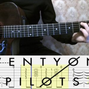 Twenty One Pilots — Heathens (Артем Мироненко), finger tab