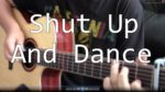 Walk The Moon — Shut Up And Dance (Hajun Lee), finger tab