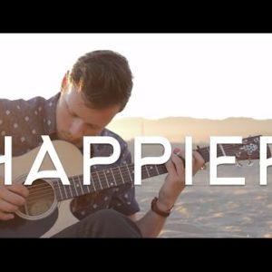 Ed Sheeran — Happier (Dax Andreas), finger tab (PDF)
