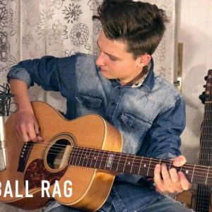 Merle Travis — Cannonball Rag (Lorenzo Polidori), finger tab