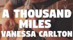 Vanessa Carlton — A Thousand Miles (Fabio Lima), finger tab