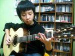 Sungha Jung — Jingle Bell, finger tab