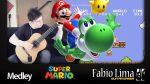 Super Mario Bros Medley (Fabio Lima), finger tab
