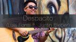 Justin Bieber, Luis Fonsi, Daddy Yankee — Despacito (Rodrigo Yukio), finger tab