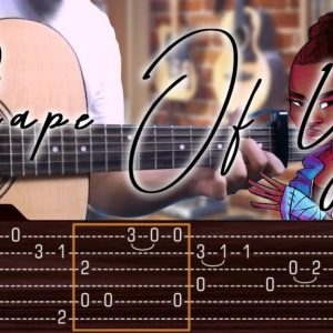 Ed Sheeran — Shape Of You, finger tab (PDF)