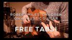 Robert Miles' — Children (Jack Haigh), finger tab (PDF)