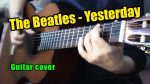 The Beatles — Yesterday (Марина Миракова), finger tab (PDF)