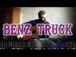 Lil Peep — Benz Truck, finger tab