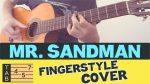 Chet Atkins — Mister Sandman, finger tab