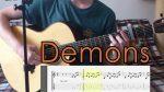 Imagine Dragons — Demons (Артем Рассказов), finger tab