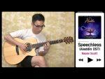 OST Aladdin — Speechless (Steve Lee), finger tab (PDF)