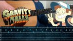 OST Gravity Falls, finger tab