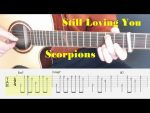 Scorpions — Still Loving you, finger tab
