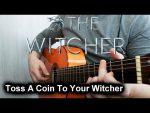 OST Witcher — Ведьмаку заплатите чеканной монетой, finger tab (PDF)