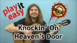 Guns N' Roses — Knockin' On Heaven's Door, finger tab (PDF)
