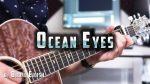 Billie Eilish — Ocean Eyes (Peter John), finger tab