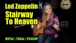 Led Zeppelin — Stairway To Heaven (Марина Миракова), finger tab (PDF)
