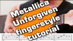 Metallica — The Unforgiven, finger tab