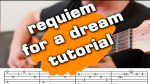 OST Requiem For A Dream, finger tab