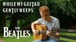 The Beatles – While My Guitar Gently Weeps (James Bartholomew), finger tab